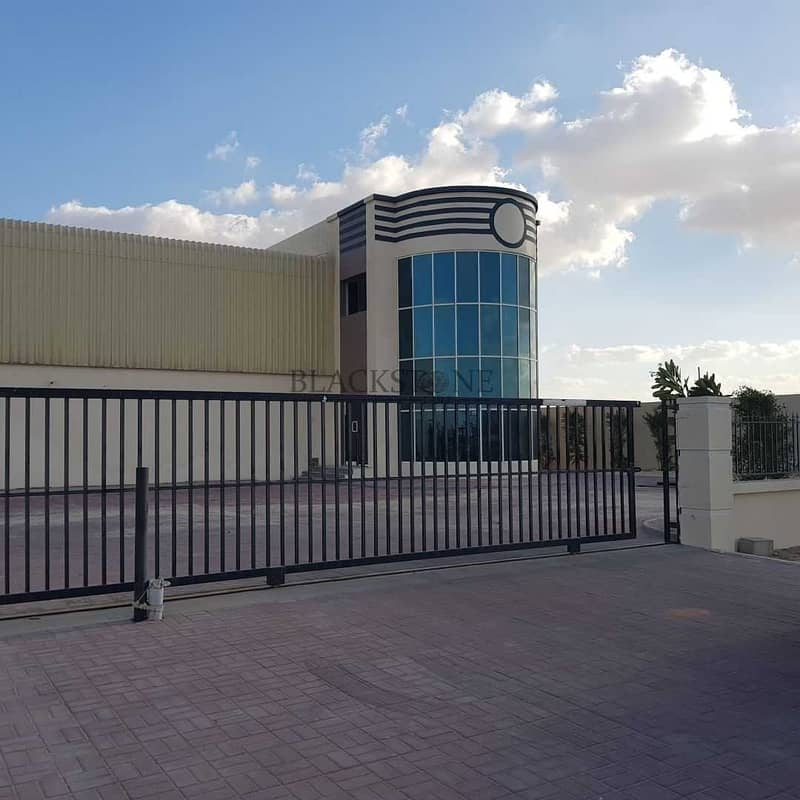 G+1 Warehouse Facility with Big Open Yard