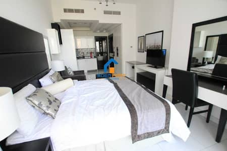 استوديو  للايجار في مدينة دبي الرياضية، دبي - Spacious Luxury STUDIO  rent  | Furnished | GBS  28k