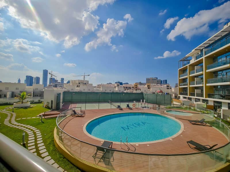 Pool View | Rented | Well Maintained | Exclusive