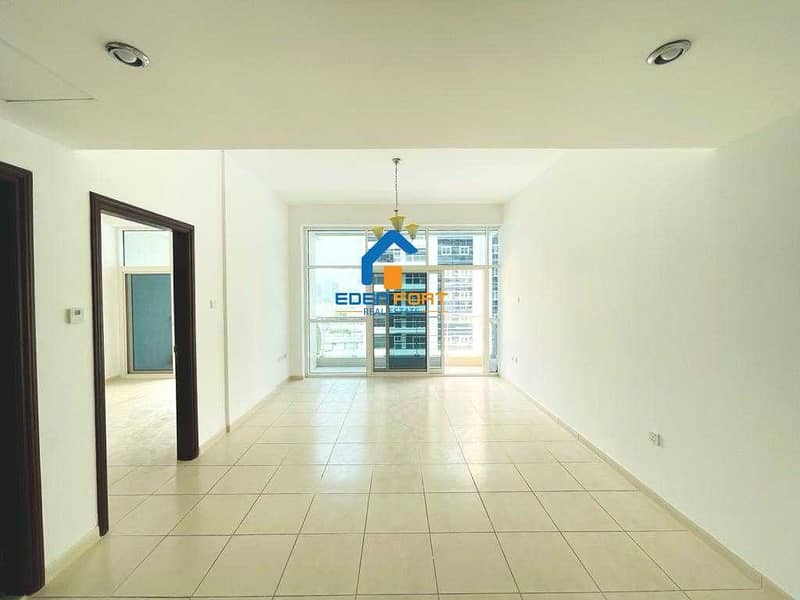Pool View - Unfurnished - 1BHK - Royal Residence - DSC