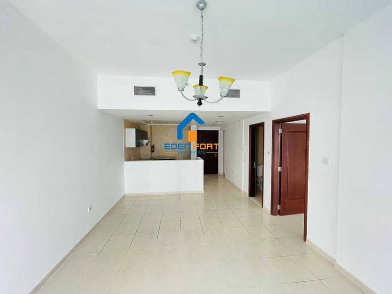 13 Pool View - Unfurnished - 1BHK - Royal Residence - DSC