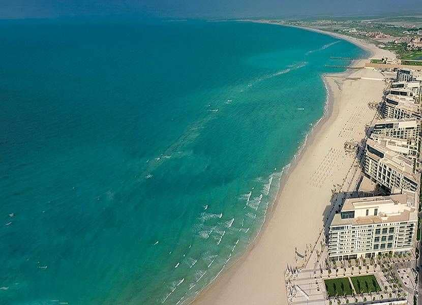 Own  Villa In Saadiyat Island   Luxury Beach Front Villa  5 Years Private Beach  10  Year Free Service Charge