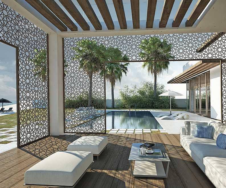 20 Own  Villa In Saadiyat Island   Luxury Beach Front Villa  5 Years Private Beach  10  Year Free Service Charge