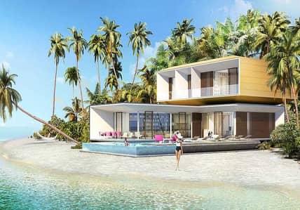 5 Bedroom Villa for Sale in The World Islands, Dubai - Stand alone sea Villa| Heart of Europe island| Special price| Private Beach