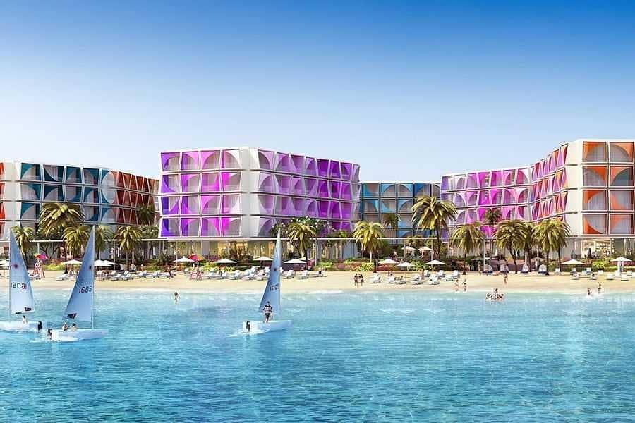 2 luxury beach hotel