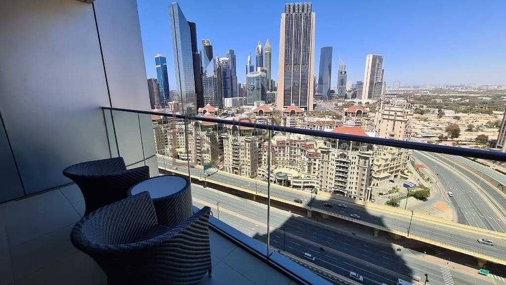 17 HIGH CLASS FULLY FURNISHED ONE BEDROOM APARTMENT