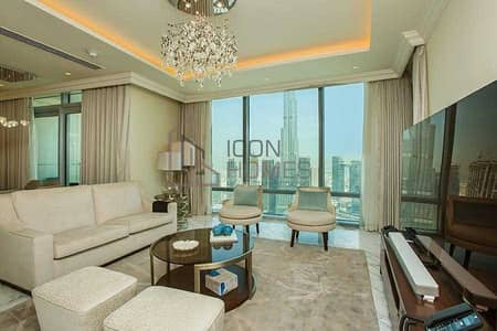4 Bedroom Apartment for Rent in Downtown Dubai, Dubai - PRESTIGIOUS FOUR BEDROOM APARTMENT IN DOWNTOWN
