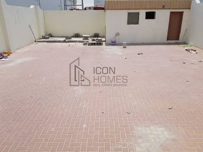 Industrial Land for Rent in Industrial Area, Sharjah - Open Land For Rent 1466 Sqft With Washroom And Room  25 K. v Electricity