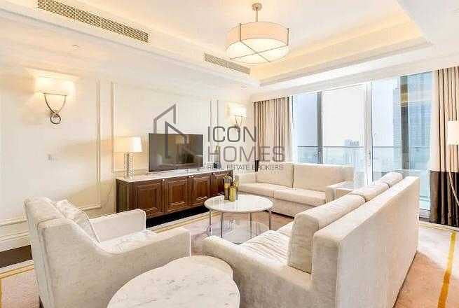 2 Luxurious fully furnished | with stunning burj & fountain view