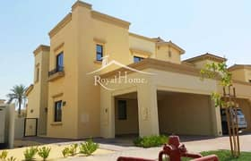 Exclusive 4 BR+MR Villa. Type 2E. Single Row. Close to pool and park