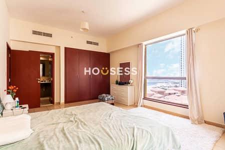 2 Bedroom Apartment for Sale in Jumeirah Beach Residence (JBR), Dubai - Partial Sea View | High Floor |  Well Maintained