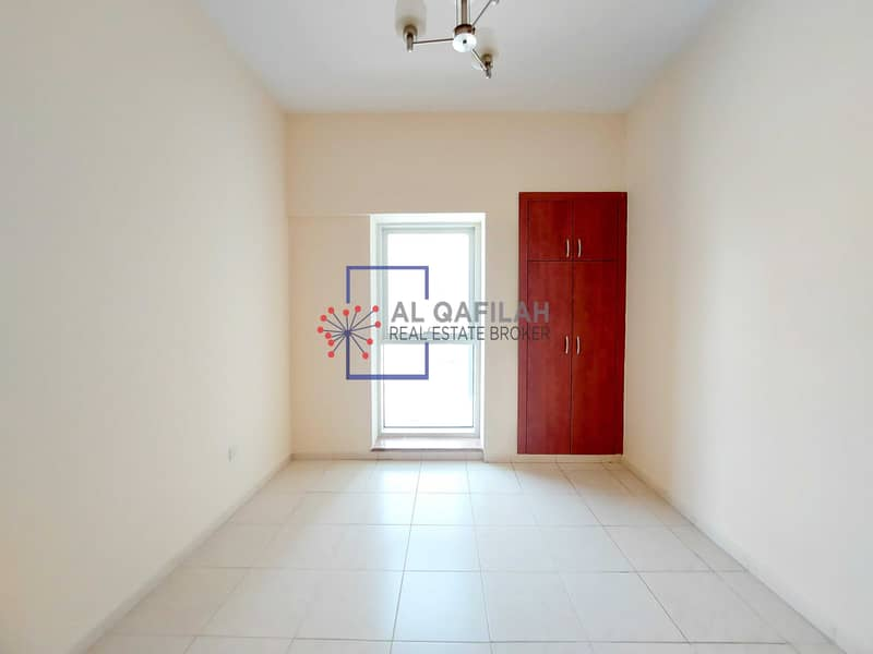Spacious 1br | Laundry + Store Room | Sheikh Zayed Rd View |