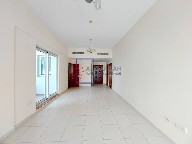 2 Spacious 1br | Laundry + Store Room | Sheikh Zayed Rd View |