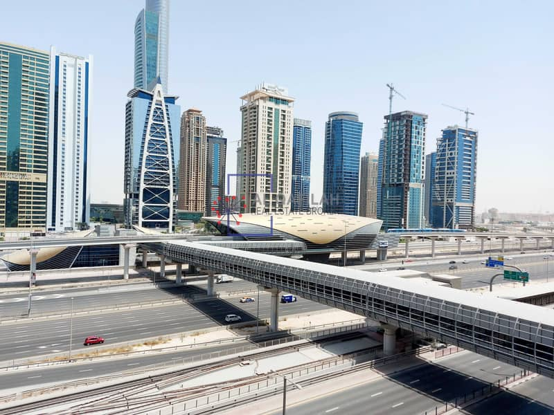 12 Spacious 1br | Laundry + Store Room | Sheikh Zayed Rd View |