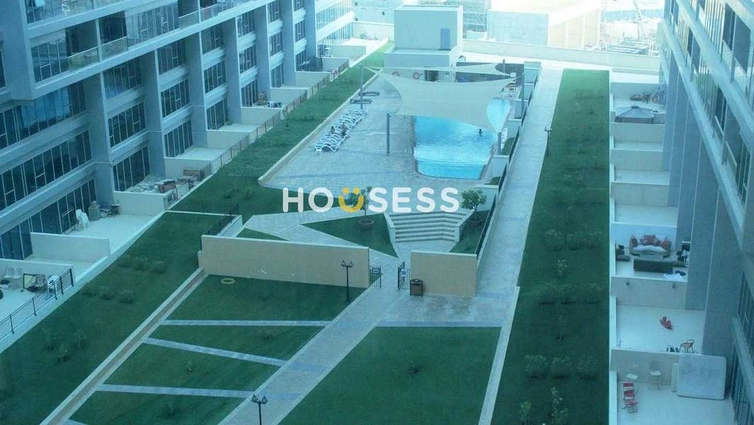 Spacious 2 BR | Balcony | Pool View | Tenanted