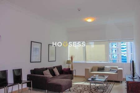 1 Bedroom Flat for Rent in Dubai Marina, Dubai - MID FLOOR | SPACIOUS | FURNISHED APARTMENT