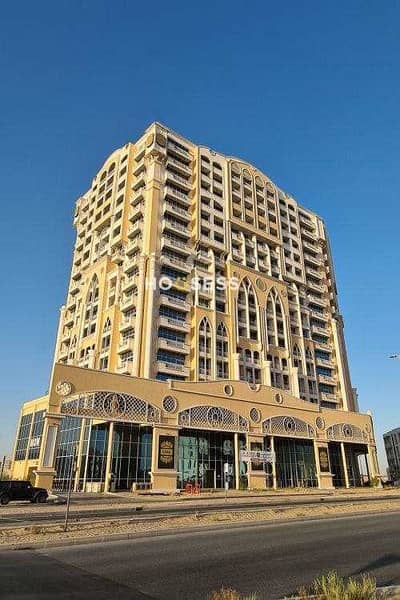 1 Bedroom Apartment for Rent in Dubai Residence Complex, Dubai - Furnished Large 1 Bed   Road View  