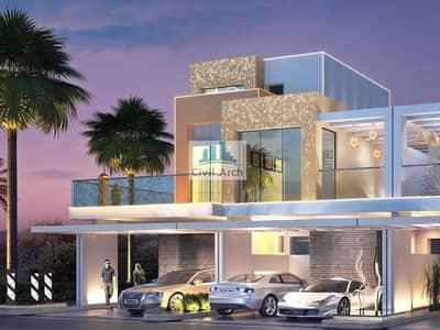 6 Bedroom Villa for Sale in DAMAC Hills, Dubai - UNIQUE 6BR VILLA+6.5 YR PAY+GARDEN+FULL GREENERY GOLF/PARKS VIEW