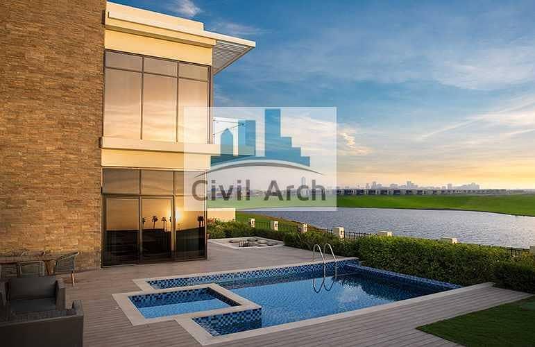 2 5 Year pay-4br Stunning Villa+Park Facing Corner unit+Gaden