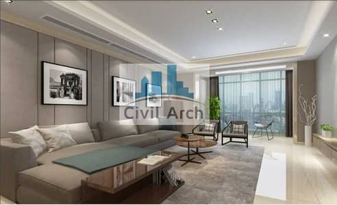 3 Bedroom Flat for Sale in Business Bay, Dubai - Furnished 3br of 2689 sqft+7 yr pay+Burj Views