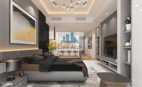 فلیٹ 3 غرف نوم للبيع في مجمع دبي ريزيدنس، دبي - LARGEST FURNISHED 3BR+4YR PAY+9%ROI+UNIQUE BUILDING