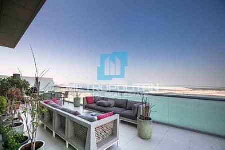 فلیٹ 4 غرف نوم للبيع في شاطئ الراحة، أبوظبي - Full Sea View | One Of A Kind | Extravagant Duplex