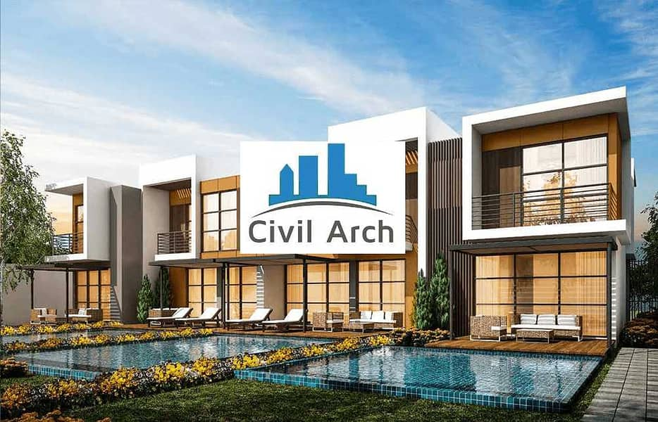 14 ADRIA VILLAS 6BR READY TO MOV-IN+4 YEARS PAYMENT PLAN