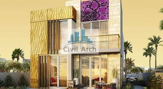 6 Bedroom Villa for Sale in DAMAC Hills 2 (Akoya Oxygen), Dubai - JUST CAVALLI 3BR STUNNING VILLA+POST HANDOVER PAYMENT