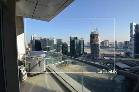 شقة 3 غرف نوم للبيع في الخليج التجاري، دبي - Exclusive   Lake view   Biggest Layout   High floor