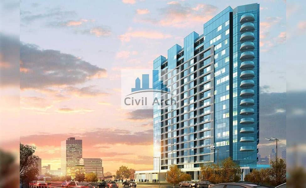 6 Golden chance FURNISHED 1BR AT 650K+4 YEARS PAYMENT PLAN OCT 2022**