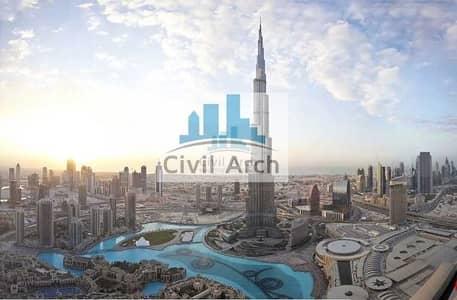 بنتهاوس 11 غرف نوم للبيع في وسط مدينة دبي، دبي - WORLD'S ICONIC PENTHOUSE 107th FLOOR (Shell b core)