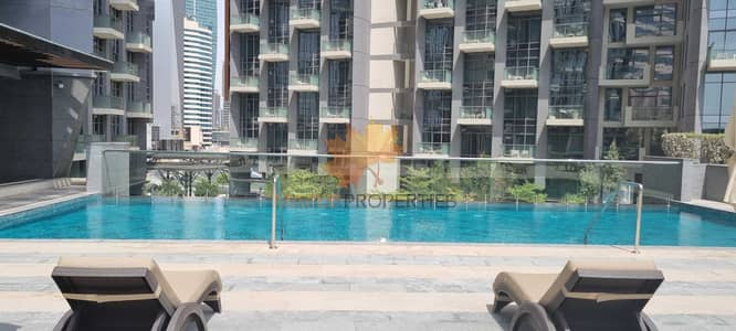 1 Bedroom Flat for Rent in Business Bay, Dubai - 1BR Apartment In Business Bay With Downtown Views For Rent