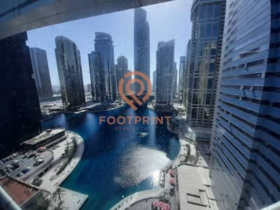 Office for Sale in Jumeirah Lake Towers (JLT), Dubai - Fitted   Partitioned   Office  Lake View  Vacant
