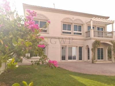 4 Bedroom Villa for Rent in Jumeirah Village Triangle (JVT), Dubai - Corner   Super Private   Single Row   With Garden  