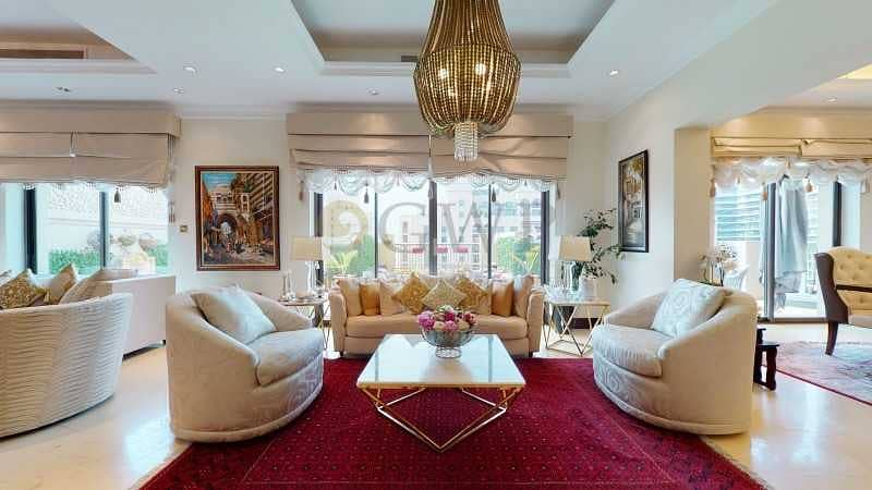 UPGRADED PENTHOUSE|EXCLUSIVE|Well Maintained|Partial Sea View|Rented