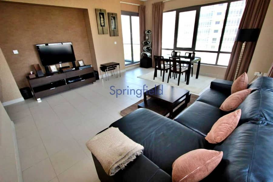 2 Upgarded Apt With Park/Pool Views| Furnished