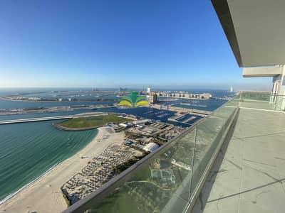 فلیٹ 4 غرف نوم للبيع في جميرا بيتش ريزيدنس، دبي - Top Deal | Corner High floor Unit | 2 Yrs PP Left
