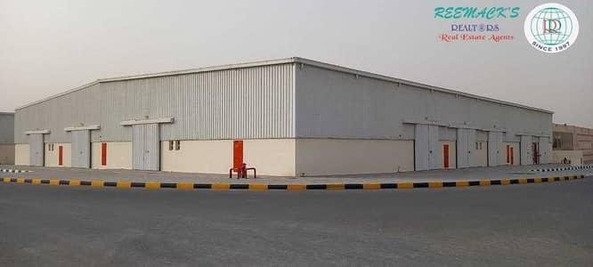مستودع  للايجار في السجع، الشارقة - BRAND NEW WAREHOUSES WITH ATTACHED TOILET IN AL SAJAA AREA