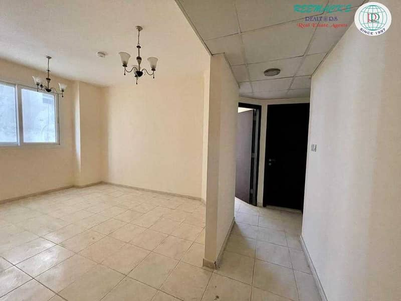 2 SPACIOUS 1 B/R HALL FLAT WITH SPLIT DUCTED A/C IN AL GHUWAIR AREA