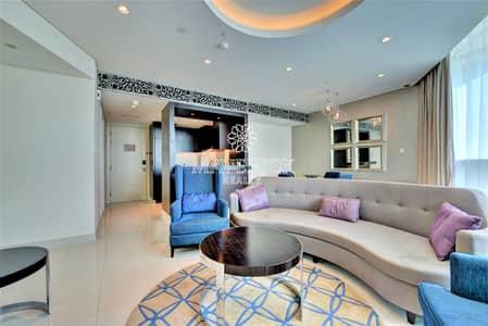 شقة 2 غرفة نوم للايجار في وسط مدينة دبي، دبي - Luxury Furnished 2BR   High Floor   Canal View