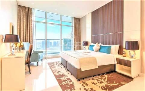 Studio for Rent in Business Bay, Dubai - Canal View   Furnished Studio   High Floor