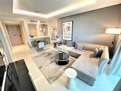 1 Bedroom Apartment for Rent in Business Bay, Dubai - Exclusive! Luxury Furnished 1BR   High Floor