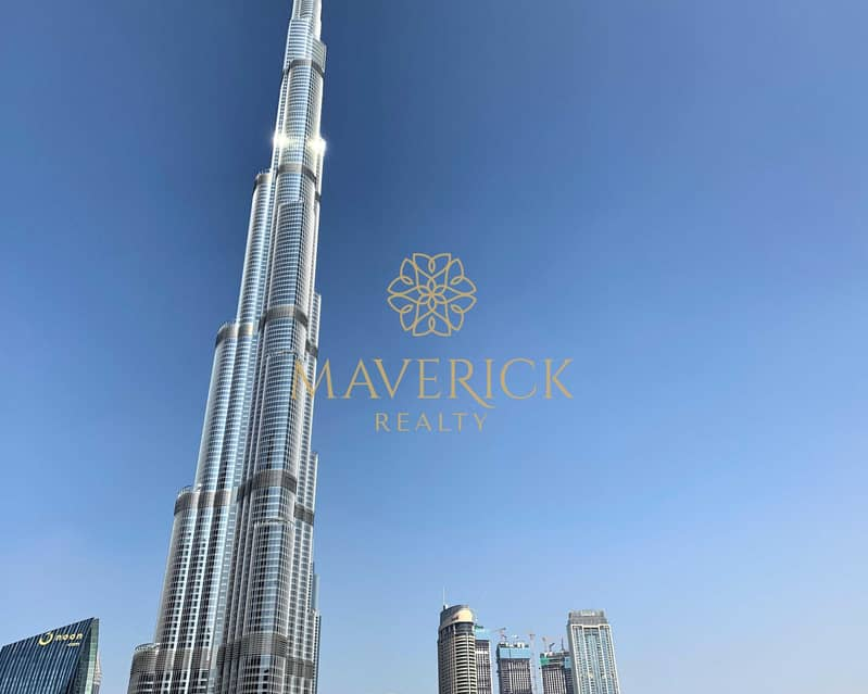 Fountain+Burj View   Furnished 3BR+Maids/R