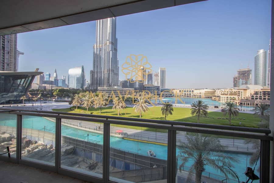 18 Fountain+Burj View   Furnished 3BR+Maids/R