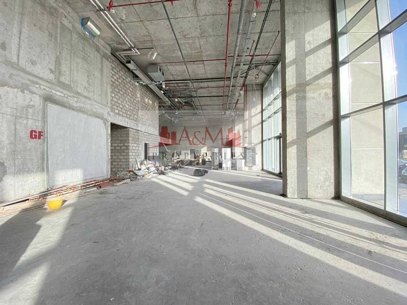 12 Excellent Deal. : Main road Brand new Showroom  for rent 1.5 Million only. !