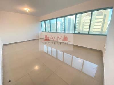 فلیٹ 3 غرف نوم للايجار في شارع ليوا، أبوظبي - NO COMMISSION>: Spacious 3 Bedroom Apartment with Balcony and Excellent  finishing for 70
