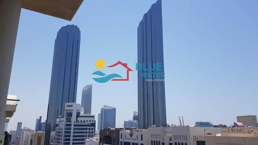فلیٹ 2 غرفة نوم للايجار في شارع حمدان، أبوظبي - Top floor
