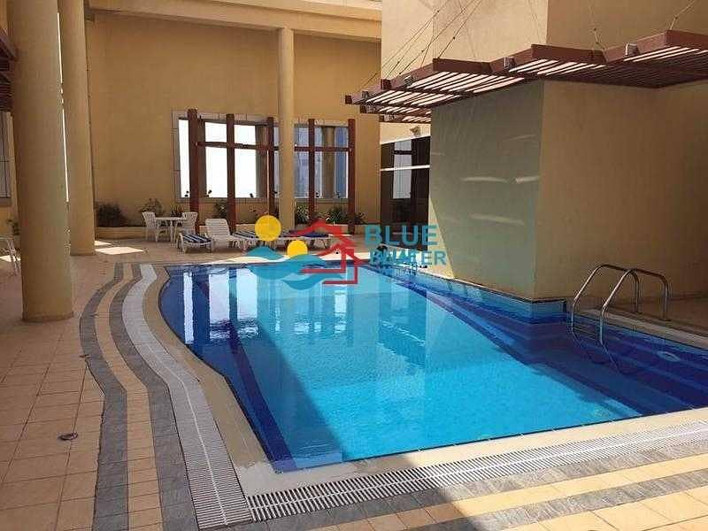 Amazing    3 BR   Corniche   Pool and Gym