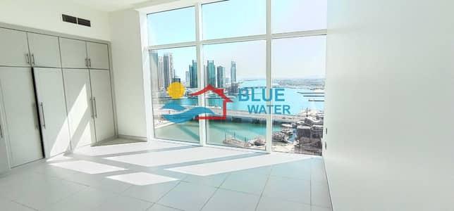 فلیٹ 1 غرفة نوم للايجار في منطقة النادي السياحي، أبوظبي - Luxury & Extra Large 1 Master BR with Balcony & sea view