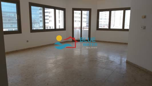 3 Bedroom Apartment for Rent in Tourist Club Area (TCA), Abu Dhabi - No Fee | 3 BHK | Balcony | Maids room | Parking